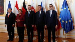 La Germania, Visegrád e l'isolamento