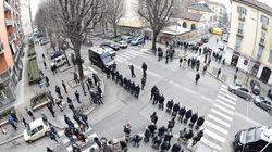 Guerriglia urbana nel centro di Torino tra anarchici e polizia, 12