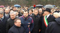 Salvini a Basovizza: