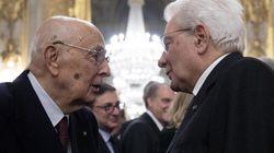 Sergio Mattarella telefona a Giorgio Napolitano: