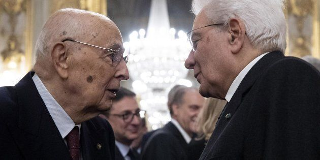 Giorgio Napolitano e Sergio