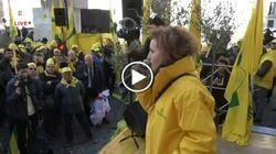 Pastori e agricoltori in protesta davanti a Montecitorio. Salvini: