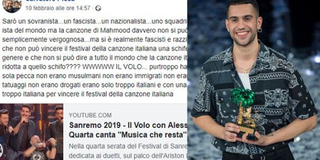 Un prete attacca Mahmood: