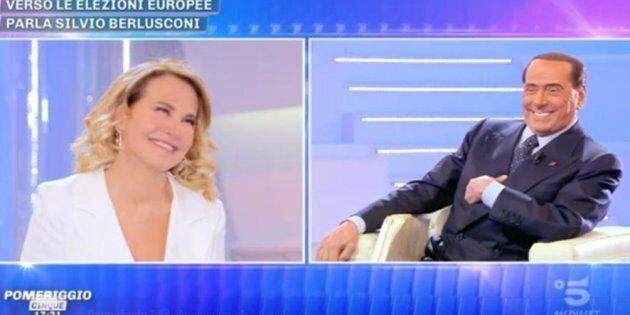 Silvio Berlusconi a Pomeriggio