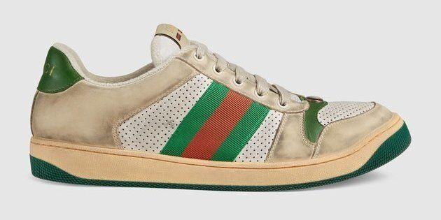newest 24653 51e7b Gucci vende scarpe da ginnastica sporche per 690 euro. Sì ...