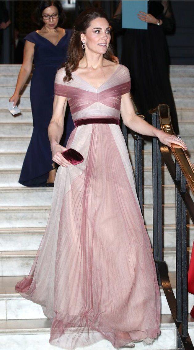 Kate Middleton Attends 100 Women in Finance Gala