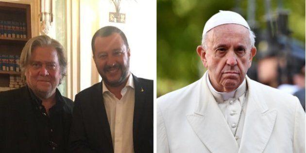 I sovranisti uniti all'attacco di papa