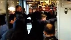 La polizia francese ha usato spray urticante contro i migranti su un treno partito da