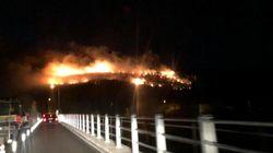 Nuovo fronte nell'incendio in provincia di Pisa, almeno 700 sfollati. Si indaga per