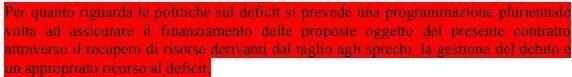 Non passa la linea Borghi su economia e