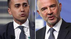 Di Maio rinfaccia a Moscovici il suo deficit: