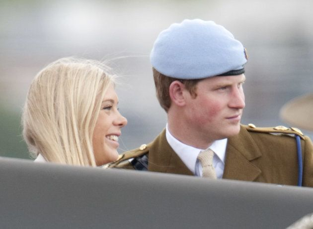 Prince Harry And His Girlfriend Chelsy Davy Attend As The Prince Of Wales, Colonel In Chief Presents...