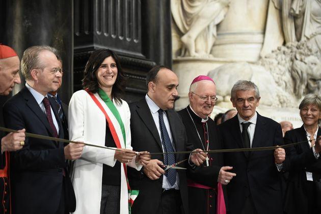 27/09/2018 Torino, conferenza stampa per la riapertura della Cappella della Sindone, restaurata a causa...