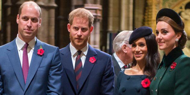Harry e William prendono una drastica decisione per mettere pace tra Meghan e