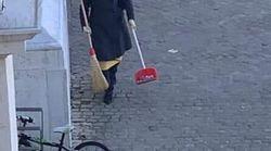 Il sindaco cerca (e trova) la spazzina volontaria: