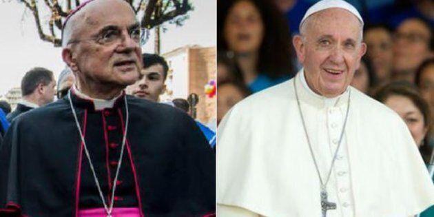 La seconda lettera di Viganò a Bergoglio arriva due giorni prima, nel nome