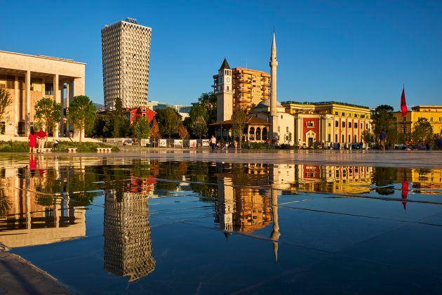 Piazza Skanderbeg, Tirana,