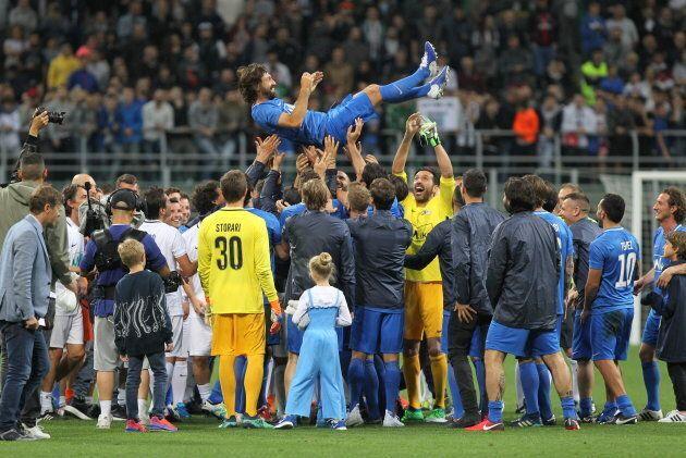 L'addio al calcio di Andrea Pirlo. 50mila a San Siro per la