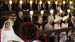 La sedia libera al royal wedding non era per