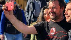 Ansia per Salvini da 'guerra del latte'. Il leader della Lega in tour elettorale senza accordo sul prezzo (Sassari, dall'invi...