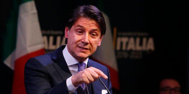 01/03/2018 Roma. Il candidato premier del Movimento 5 Stelle presenta la squadra di governo in caso di...
