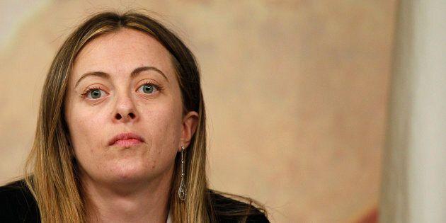 L'amarezza di Giorgia Meloni: