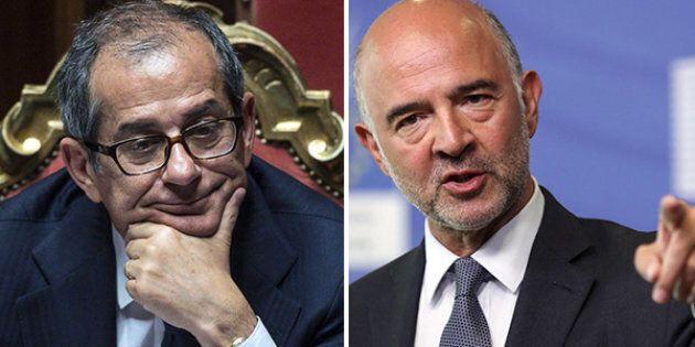 Giovanni Tria all'Eurogruppo: