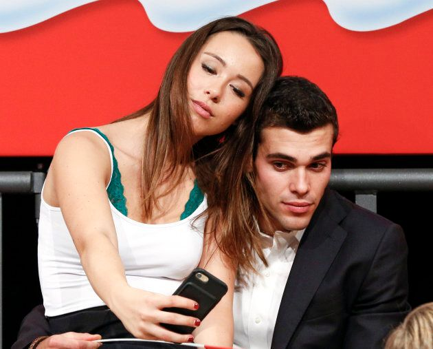 Aurora Ramazzotti col fidanzato Goffredo