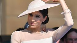 Meghan sfoggia il nuovo regalo del principe Harry: un bracciale di diamanti da 18mila
