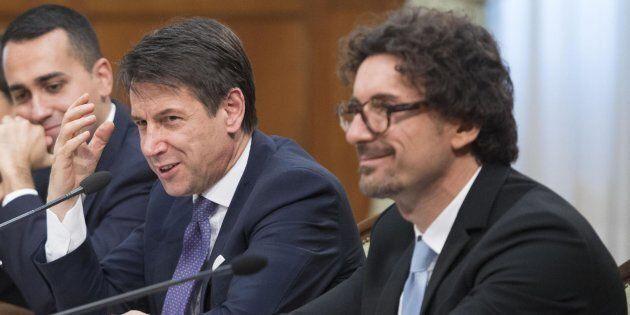 Danilo Toninelli, Giuseppe Conte, Luigi Di