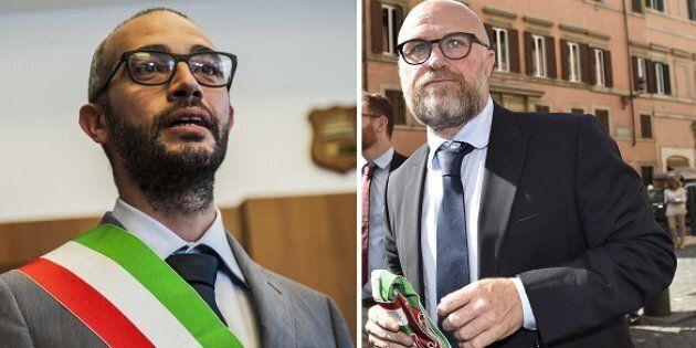Antonio Cozzolino, sindaco di Civitavecchia - Filippo Nogarin, sindaco di