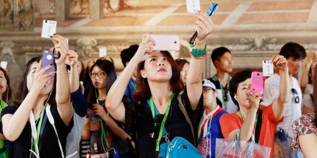 ITALY. Vatican City. Vatican Museum.