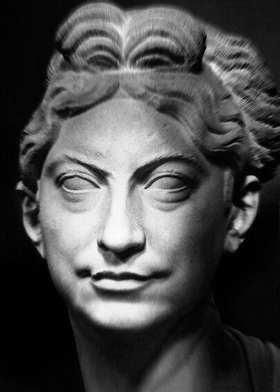 Mimmo Jodice I volti della memoria, 2015 Museo Chiaramonti, Ritratto femminile Stampa fotografica eseguita...