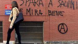 Scritte contro Salvini a Parma. Lui replica: