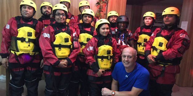 Il team MOAS in Bangladesh si prepara per affrontare il training in vista dell'imminente