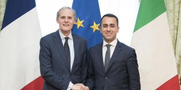Incontro Di Maio con ambasciatore