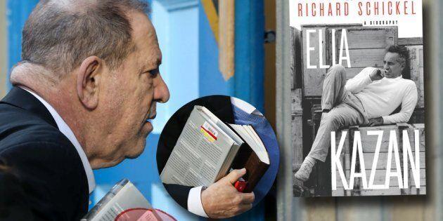 Harvey Weinstein si è consegnato alla polizia di Manhattan con in mano una biografia di Elia