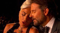 Lady Gaga e Bradley Cooper cantano