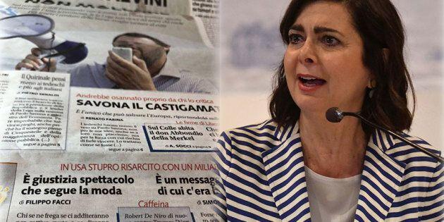 Boldrini contro Libero: