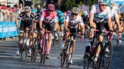 Il vincitore del Giro sulle buche di Roma: