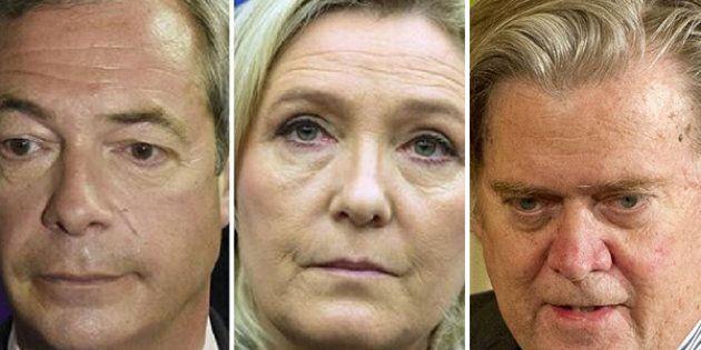 Farage e Le Pen indignati.