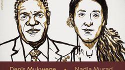 Il Premio Nobel per la Pace al ginecologo congolese Mukwege e all'ex schiava dell'Isis Nadia