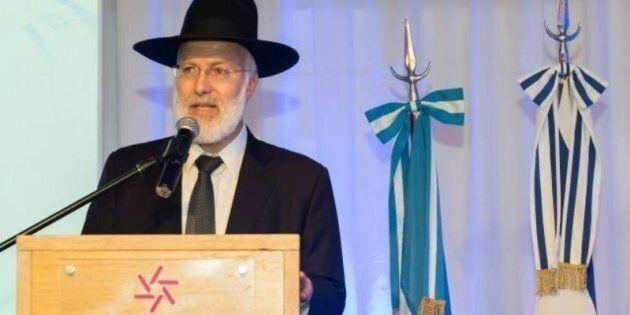 Gabriel Davidovich, rabbino capo