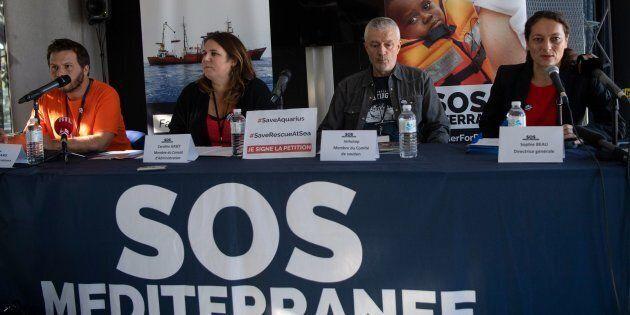 Aquarius, blitz dell'estrema destra nella sede di Sos Mediterranée a