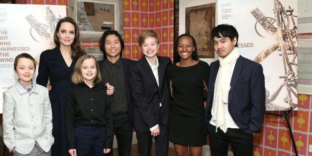 I sei figli di Angelina Jolie sono tutti cresciuti e queste foto hanno sorpreso