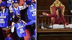 La protesta dei gilet blu forzisti fa arrabbiare Casellati: