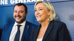 Matteo Salvini e Marine Le Pen, il patto delle Botteghe Oscure (di A.