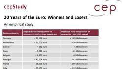 Economisti contro lo studio sull'euro: