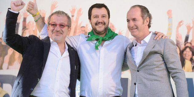 Per Matteo Salvini le insidie vengono dal nord. Roberto Maroni: