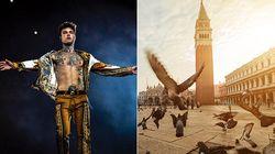 Fedez non si lancerà dal Campanile di Venezia per il Volo dell'Aquila: troppe